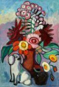 Gabriele Münter<BR>Heiteres Blumenbild