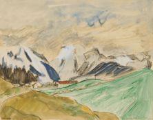 Erich HeckelVerschneite Berge