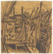 Otto DixVor dem Unterstand