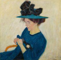Walter Ophey<BR>Portrait Bernhardine Bornemann