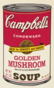 Andy Warhol<BR>Campbell's Soup II (Golden Mushroom)