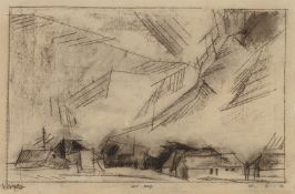 Lyonel Feininger<BR>West-Deep