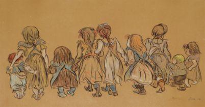 Heinrich Zille<BR>Kindergesellschaft