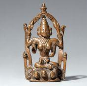Durga-Altar. Kupferlegierung. Zentral-Indien, Maharashtra. 19. Jh.