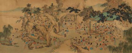 Nach Qiu Ying . Späte Qing-/Republik-Zeit<BR>