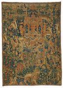 A Dutch Hortus Conclusus tapestry