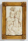 Niederländisch Ende 17. Jahrhundert, Der Hl. Joachim wird von der Jungfrau Maria bekrönt