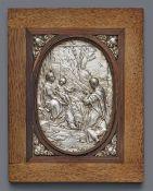 Anbetung Mariens durch den Apostel Johannes