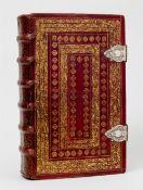 """, Mitglieder- und Gästebuch der """"Confrérie des Roi Mages"""" am Kloster Berlaymont, Brüssel."""
