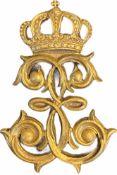 "2nd Guard Riflement Regiment ""Queen Elizabeth"" Epaulette Badge"