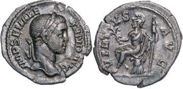 Severus Alexander (222-235 AD), AR Denarius (2.36g) struck 230 AD, Rome