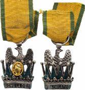 ORDER OF THE IRON CROWN (Ordine Reale Italiano della Corona Ferrea – Ordre de la Couronne de Fer)
