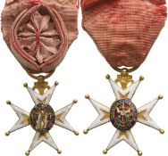 MILITARY ORDER OF SAINT LOUIS, INSTITUTED IN 1693