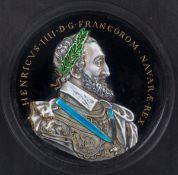 Copper and enamel plaque. Limoges. France.