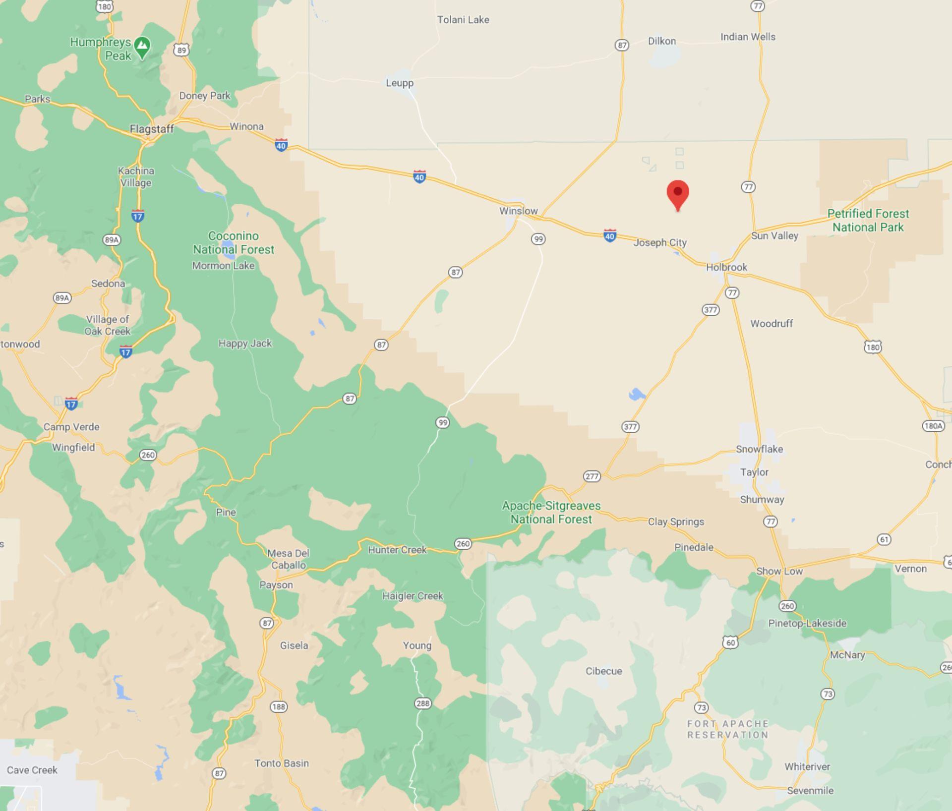 40 Acres in Navajo County, Arizona! BIDDING IS PER ACRE! - Image 5 of 5