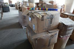 """Pallet of 5"""" Traverse mixed Plastic cones 2.5"""" base to 1.5"""""""