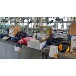 Quantity of PPE inc gloves ear defenders etc
