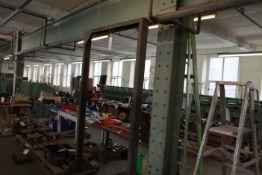 Steel lifting frame