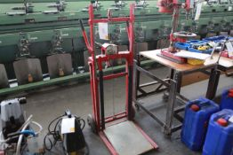 RECORD Box Lifting Sack cart 150Kg cap