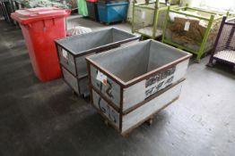 2 Reinforced Aluminium Wheeled carts