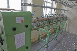 METTLER FM-K textile assembly winder two to eight fold 12 spindle