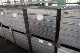 2 Aluminium Tubs