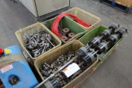 Pallet of winding machine spares