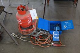 CALOR Gas burner and small camping stove