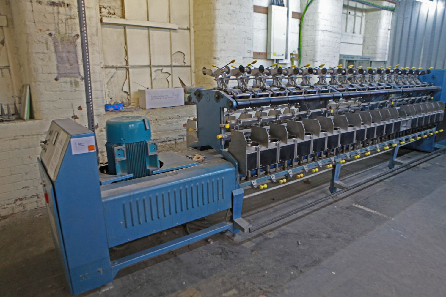 Residual contents of Textile Twisting and Doubling Mill