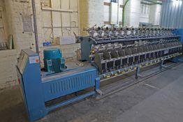VOLKMANN VTS 07 Textile machine 2 for 1 Twister 36 Spindles