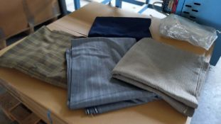 3 lengths of Worsted Fabric 2.4m 3.2m 6.6m