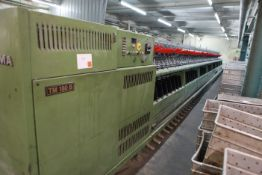 SAURER ALLMA TM180B textile machine 2 for 1 Yarn Twister 96 spindles