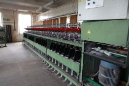 SAURER ALLMA TM180B Two for one Yarn Twister 60 Spindles