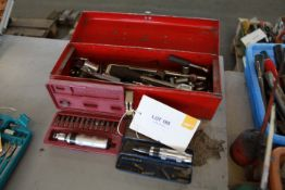 """Box of 1/2 """" sockets and 2 impact wrenches"""