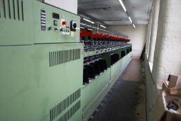 SAURER ALLMA TM180B Two for one Yarn Twister 64 Spindles