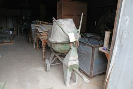 PARKER 3T Petrol Powered cement mixer
