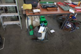 Fuel Cans Sprayer and drain rods