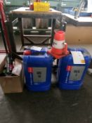 Textile Lubricants unopened SAROL 100E & SAROL Ring Oil 32 lubricants with sundries