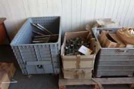 Tub & Pallet of winding machine spares