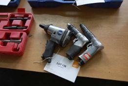 3 Pistol grip pneumatic drills