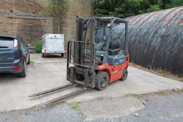 TOYOTA SAS 15 Diesel Fork Lift Truck 2001