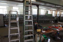 9 Tread aluminium step ladder