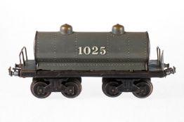 Bing Kesselwagen 1025, S 1, Chromlithographie, Kleinteile NV, Lackschäden, L 26, Z 3