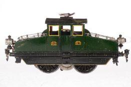 Märklin E-Lok V 64/3021, S 1, Starkstrom, handlackiert, 2 el. bel. Stirnlampen, starrer Pantograph