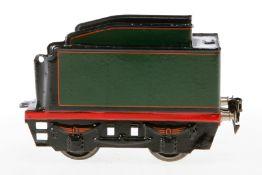 Märklin Prototyp Tender R 929, S 1, handlackiert, komplett gelötet (auch Achslagerblenden),