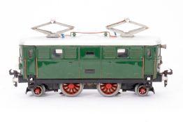 """Buco E-Lok """"304"""", S 0, elektr., grün, Alterungsspuren, Z 3"""