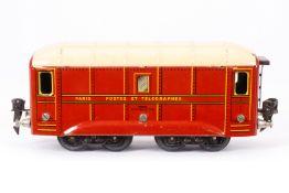 JEP Postwagen, S 0, CL, LS, Fixkupplungen, L 18,5, Karton, Z 3
