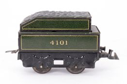 Bing Tender 4101, S 0, grün/schwarz, L 12, Z 3