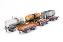 5 Buco Güterwagen, S 0, LS, Z 3