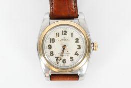 "Rolex Damenarmbanduhr ""Oyster Perpetual Officially Certified Chronometer"", zentrale Sekunde, handauf"